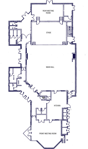 Westerham Hall Floor Plan